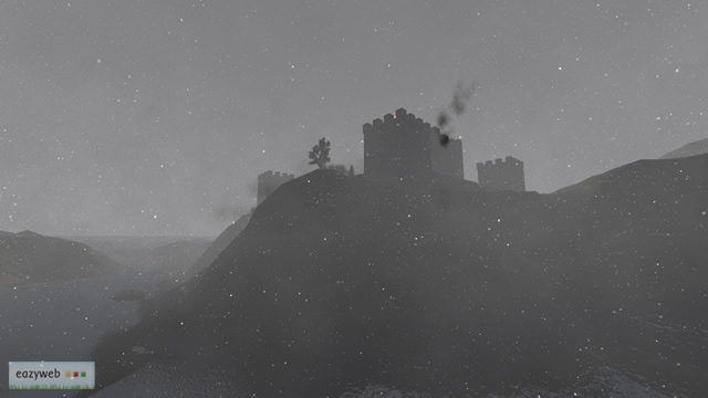 Imposing castle on the hill, Final Render 3